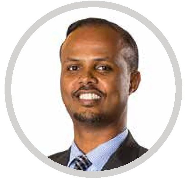 Hussein Farah Founder and Executive Director New Vision Foundation